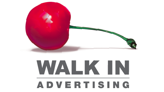 Walk In advertising- logo