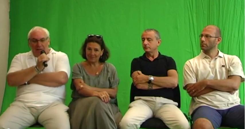 Gianni Gaude, Maria Valenti, Tony Sansone e  Walter Rivetti