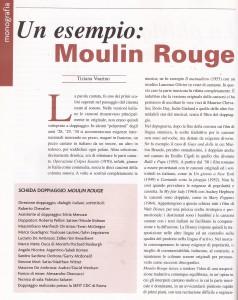 Un esempio di doppiaggio: Moulin Rouge di Tiziana Voarino 3