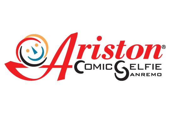 Ariston comic selfie- logo