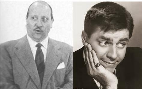 Picchiatello, Jerry Lewis e Carletto, il suo doppiatore Carlo Romano di Roberto Uggeri