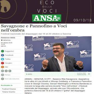 Ansa.it | martedì 9 ottobre 2018
