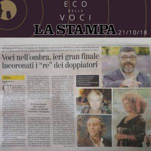 La Stampa | domenica 21 ottobre 2018