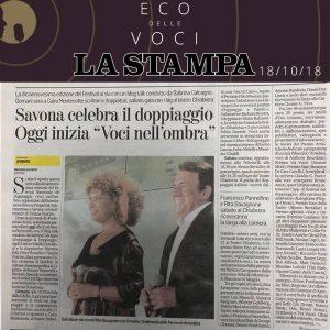 La Stampa | giovedì 18 ottobre 2018