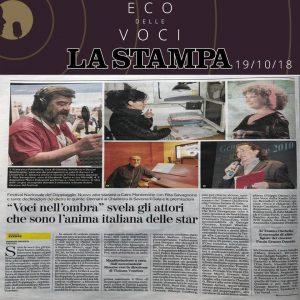 La Stampa | venerdì 19 ottobre 2018