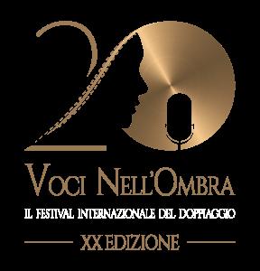 Logo Festival Internazionale del doppiaggio Voci nell'ombra