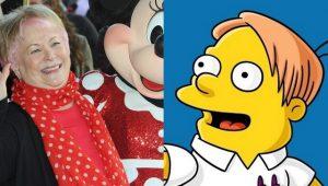 Morta la storica doppiatrice di Minnie: ripercussioni anche sui Simpson?
