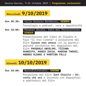 Programma XX edizione 3