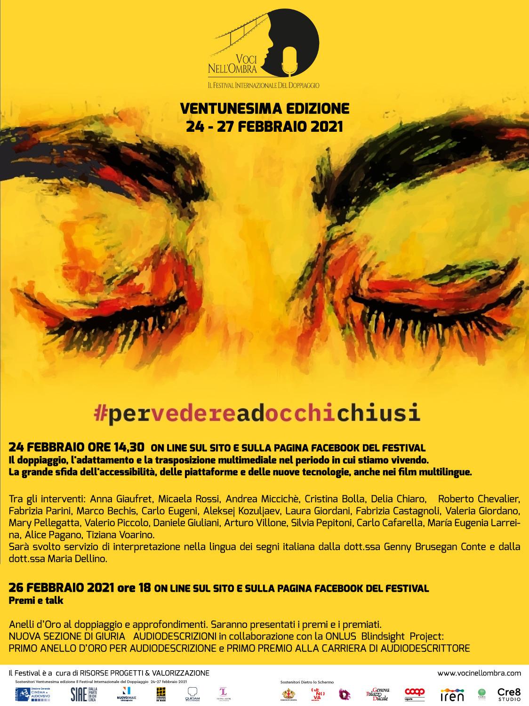 Per vedere ad occhi chiusi - Festival internazionale del doppiaggio italiano